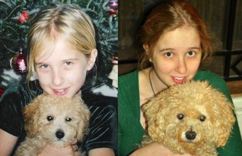 Две красавицы. животные, питомцы, тогда и сейчас