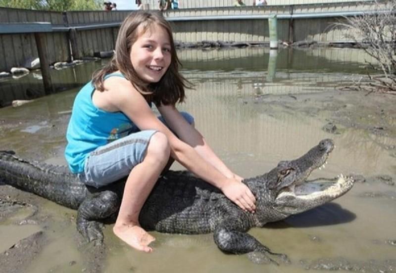 Вообще, дети это такие создания, которые могут замучить не только домашнего питомца, но и какого-нибудь дикого дети, животные, прикол, юмор