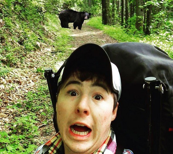 25 безумных селфи с дикими животными идиоты, прикол, селфи, юмор