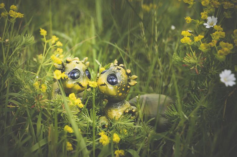 Улитки животные, сад, фантазия