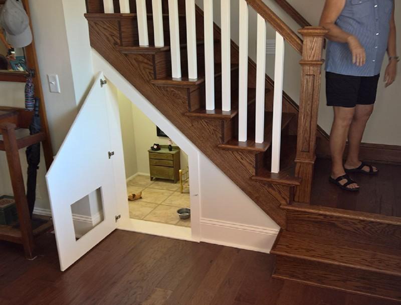Учительница сделала для своего песика личную спальню дом, друг человека, комната для собаки, собаки