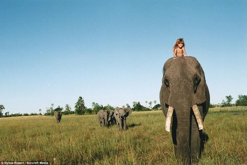Покататься на дружелюбном Абу африка, маугли, ребята и зверята, фотографии животных