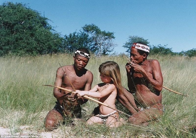 С бушменами в Намибии африка, маугли, ребята и зверята, фотографии животных