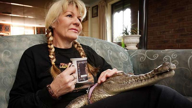3. Вики Лоувинг- любительница рептилий  люди, соседи, странности