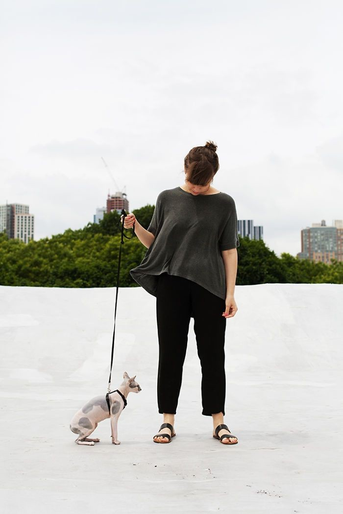 Айа и Перл девушки, животные, коты, фотопроект