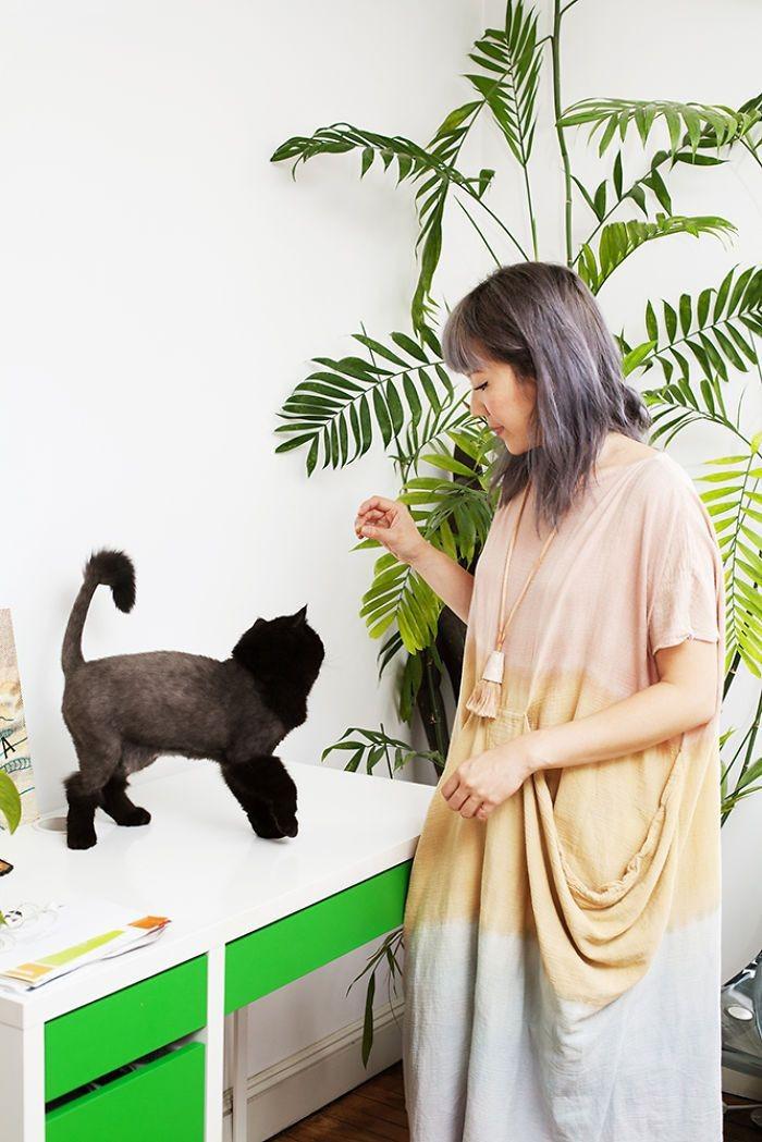Лили и Поло девушки, животные, коты, фотопроект