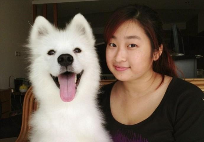 Девушка нашла на улице пса в плачевном состоянии и взяла к себе домой люди, собаки, спасение