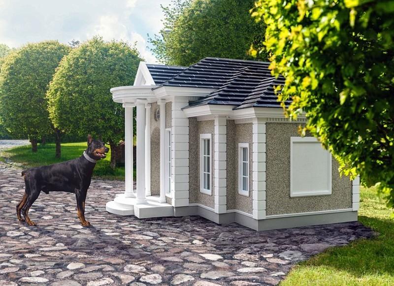 Особняки для любимых питомцев за 150 тысяч фунтов богач, животные, конура, особняк, питомцы, роскошь, собака