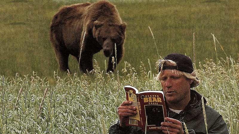 11. Нападение гризли на людей в национальном парке Катмай, Аляска, 2003 г. дикие животные, нападение медведя, нападение хищника