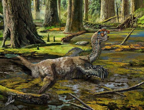 Tongtianlong limosus, динозавр. биология, живая природа, мутант, наука, неопознанное существо