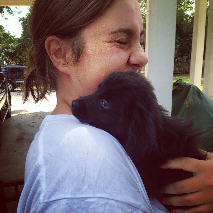 """""""Через полгода после того, как я справилась с депрессией, я взяла из приюта Джилли"""" дружба, животные, любовь, любовь с первого взгляда, первая встреча, пес и я, собаки, хозяева"""